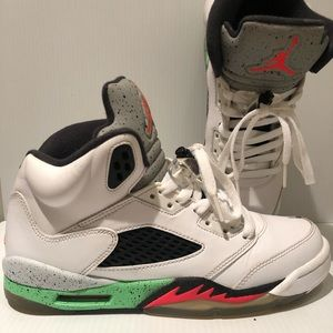 Jordan Retro 5 Poison Green